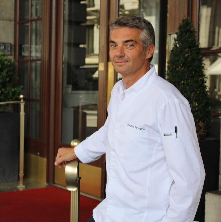 Christian Bertogna Chef Executif du Lausanne Palace